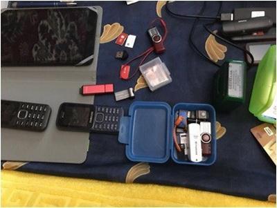 В Харькове раскрыта еще одна агентурная сеть российской разведки: у задержанных изъяты носители информации и оружие