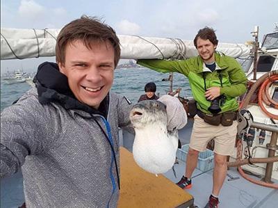 Дмитрий Комаров съел смертоносную рыбу