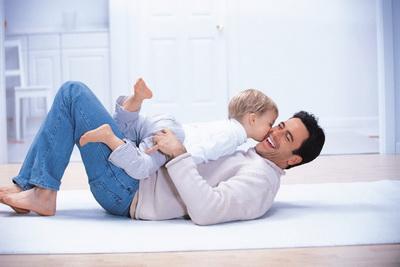 Вес ребёнка зависит от внимания отца