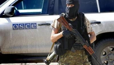 """Вооруженные боевики """"ДНР"""" преградили ОБСЕ доступ в оккупированное Седово и требовали от наблюдателей национальные паспорта"""