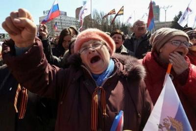 """""""Какой Путин? Мы - Украина!"""" - """"вата"""" Донецка больше не хочет российских подачек"""
