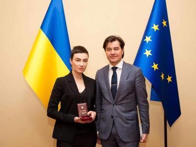 Анастасия Приходько стала заслуженной артисткой Украины