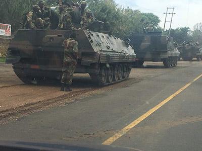 В столицу вошли танки, готовится свержение союзника Путина