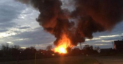 Взрыв на химическом заводе: в Японии произошла масштабная авария