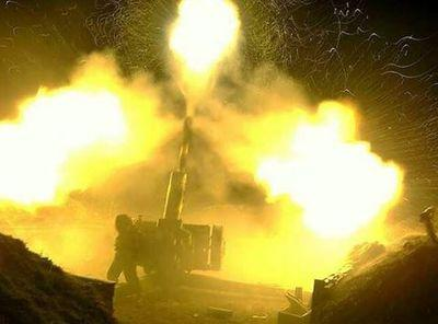 В зоне АТО загремела артиллерия