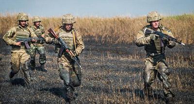 Бои на Светлодарской Дуге: ДРГ боевиков убегала с места схватки, оставив на поле боя раненных