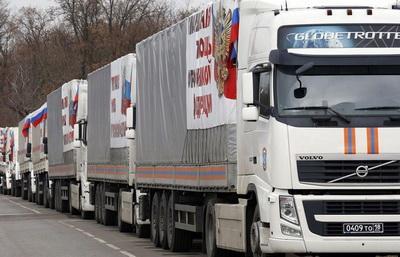 В будущем году РФ продолжит отправлять «гумконвои» на Донбасс