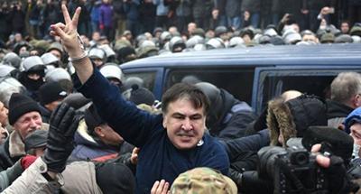 Саакашвили дал старт вече у Рады на котором объявит «план действий»