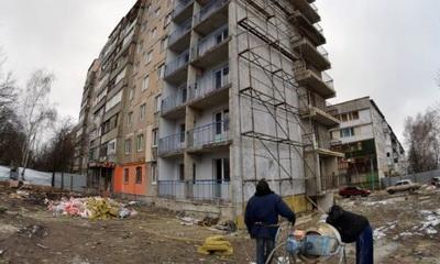 В «ДНР» восстанавливают разрушенную в Ясиноватой многоэтажку