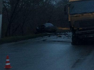 В районе Славянска произошла жуткая авария