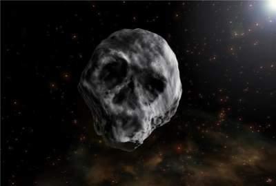 """К Земле приближается огромный """"череп"""""""