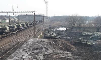"""""""Небратья движуют"""", - блогер показал кадры военной техники, которую Россия пригнала под границу с Украиной для террористов """"ЛДНР"""""""
