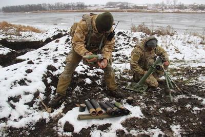 Ситуация в зоне АТО: боевики бьют из минометов