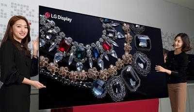 LG создала первый в мире 8K OLED-дисплей