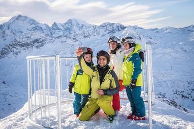 """В Швейцарии создали первую """"горнолыжную селфи-площадку"""""""
