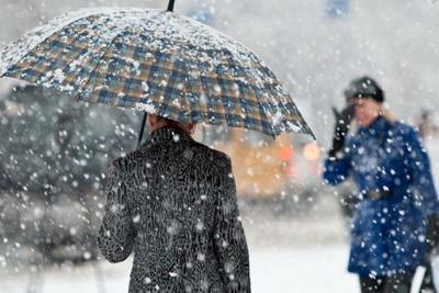 На Украину надвигается мощный холодный циклон