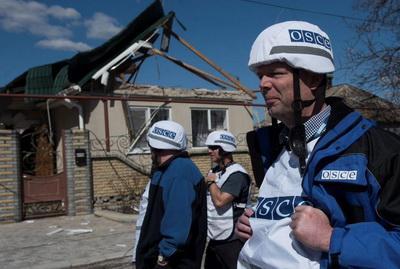 """ОБСЕ зафиксировала в 2017 году на Донбассе свыше 400 тыс. нарушений """"режима тишины"""""""