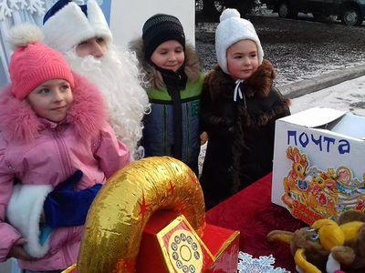 В Доброполье роскошно встретили Старый новый год