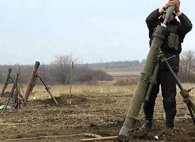 На Луганское направление прилетело пять снарядов