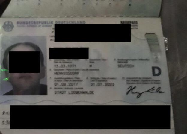 Житель Германии попал в неприятности у линии разграничения на Донетчине