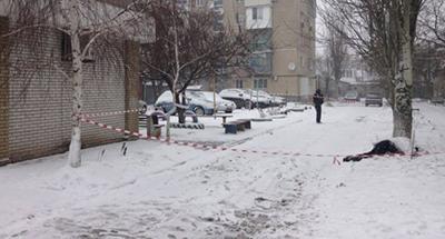 В ходе задержания житель Бердянска взорвал себя, тяжело ранив полицейских