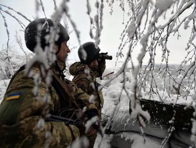 На Донбассе за сутки был ранен один украинский военный – штаб АТО
