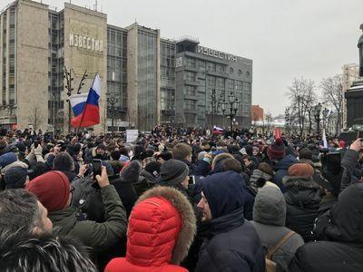 """В России в ходе """"Забастовки избирателей"""" задержаны сотни человек"""