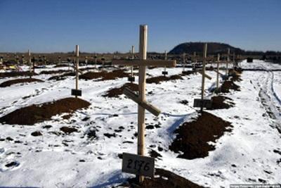 """Жители """"ДНР"""" сообщили о большом количестве убитых российских солдат - соцсети поражены массовым захоронением в Горловке"""