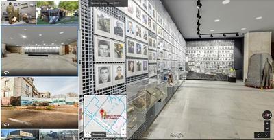 Днепровский музей АТО теперь можно посетить через Google Maps