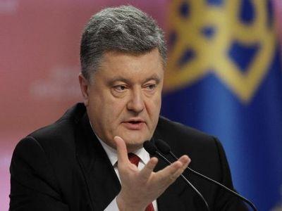 Порошенко пояснил, что остановит стрельбу на Донбассе
