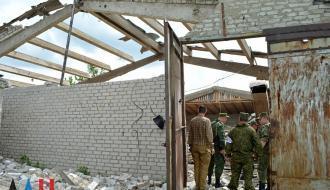 Оккупированный Докучаевск днем попал под обстрел: есть разрушения