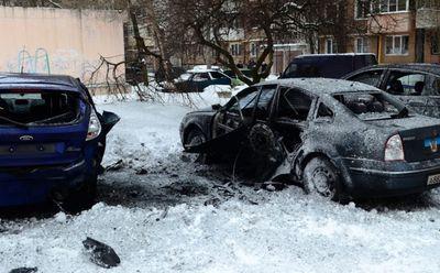Появились фото и подробности взрыва, напугавшего Донецк