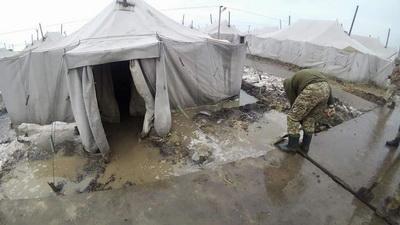 """""""Мы военные. Но мы не бомжи"""". Что происходит на скандальном полигоне Широкий Лан, где этой ночью погиб солдат. ВИДЕО"""