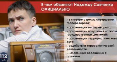 Душ и тонированные окна: как сидится арестованной Савченко