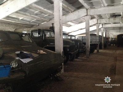 На Житомирщине нашли почти 200 единиц украденной военной техники