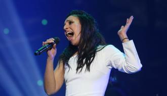 Украинская певица Джамала вчера родила