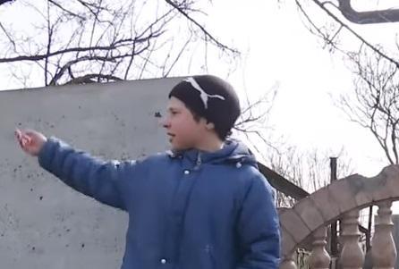 История ребенка войны с Донбасса: был ранен осколком и сбит БМП (ВИДЕО)