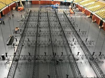 В Лиссабоне начался монтаж сцены для Евровидения