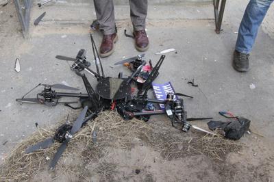 Первый российский дрон-почтальон разбился сразу после взлета  (ВИДЕО)