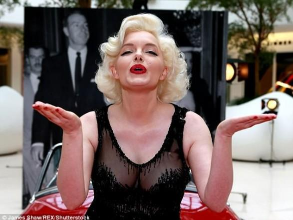 В Голливуде создали цифровую копию Мэрилин Монро