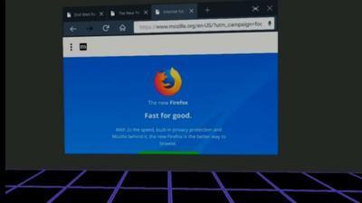 Mozilla презентовала браузер для виртуальной реальности