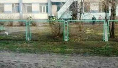 В здании Пенсионного фонда в Киеве сгорел человек