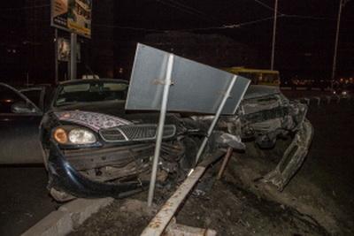 """""""Я поеду в АТО и постараюсь там погибнуть..."""" -  пьяный водитель такси после аварии в Киеве дал странную клятву. ВИДЕО"""