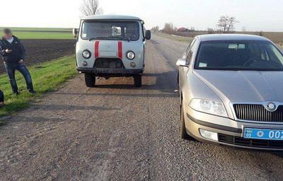 """В Донецкой области угнали """"скорую помощь"""""""