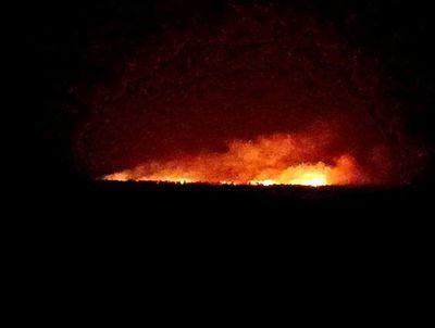 Огненный удар в районе Докучаевска: подробности от волонтера