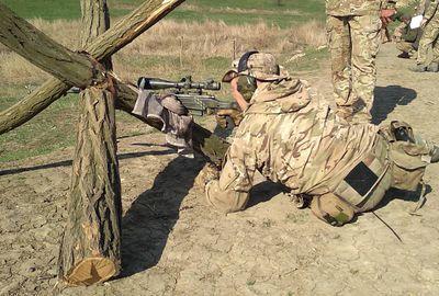 В зоне АТО стреляли украинские снайперы