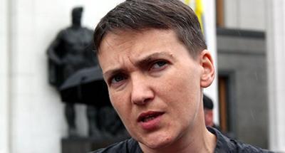 «И снова дежа-вю»: Савченко начала голодовку