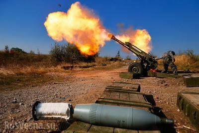 Донецк и Докучаевск жестоко обстреляны