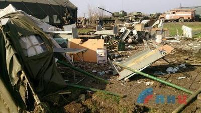 Оккупированный Луганск попал под обстрел