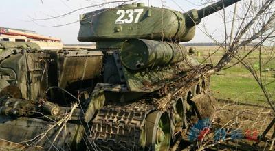 Парада не будет: в Луганске ликвидирована часть техники, которую боевики готовили к 9 Мая